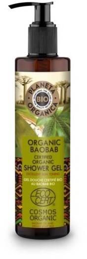 Planeta Organica BIO żel pod prysznic Baobab Oil 280ml 52492-uniw