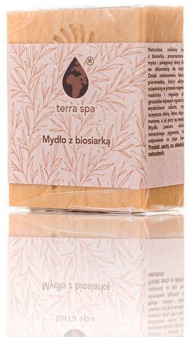 TERRA SPA Mydło z biosiarką 150 g Terra Spa