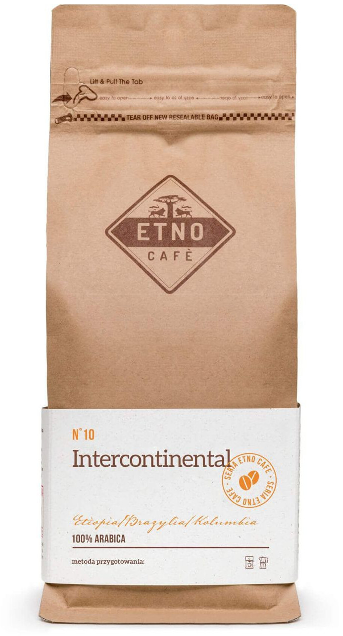 Etno Cafe Intercontinental 1kg INTERA1000LF