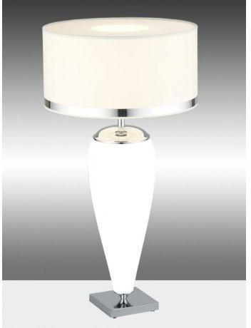 Argon Lampka biurkowa LORENA 367 1pł biały Chrom