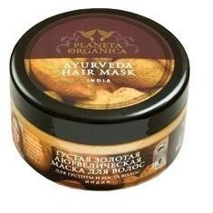 Planeta Organica Maska do włosów złota ayurvedyjska 300ml POR16