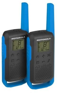 Motorola T62 PMR 446 KRÓTKOFALÓWKI NIEBIESKIE