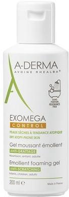 A-Derma A-Derma Exomega zmiękczający pieniący się żel Do cery suchej i atopowej 200 ml