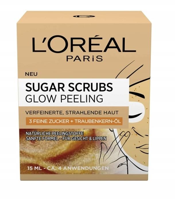 L'Oréal, Scrub z cukrem i olejem z pestek winogron