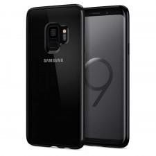 Spigen Etui Ultra Hybrid Galaxy S9, czarne z połyskiem 8809565305238