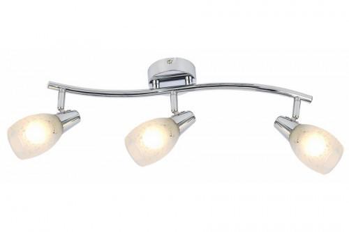 Reality potrójna listwa sufitowa Crissy 815803-06 reflektorki z regulacją chromowane na sufit łazienkowe 815803-06