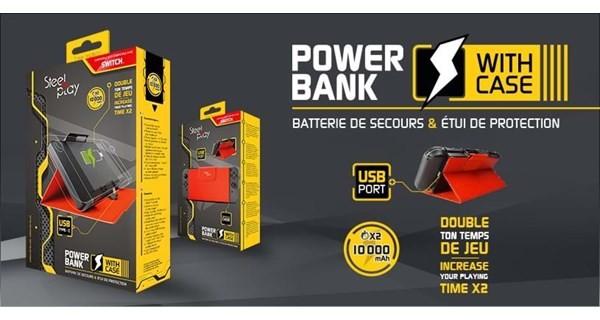 Steelplay Steelplay Powerbank Flip Cover Switch - Akcesoria do konsoli do gier - Nintendo Switch 3760211000646