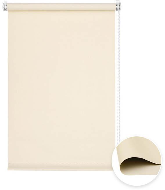 Victoria-M Roleta materiałowa bezinwazyjna, Przyciemniająca, Gotowa, BASIC, kremowa, 40x100 cm