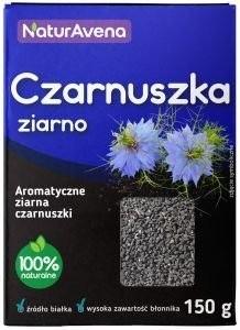 NaturAvena Czarnuszka Ziarno 150g - NAVCZARNUSZKA