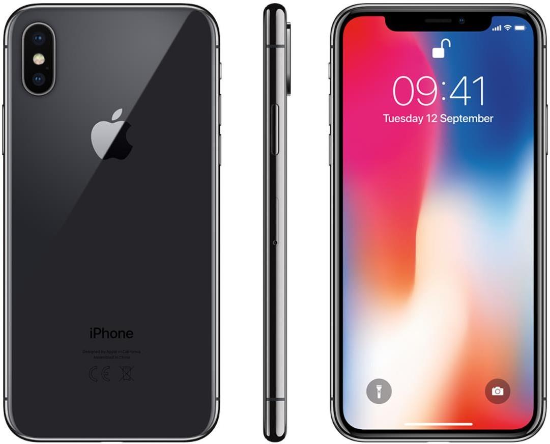 Apple iPhone X 64GB Gwiezdna Szarość (MQAC2PM/A)