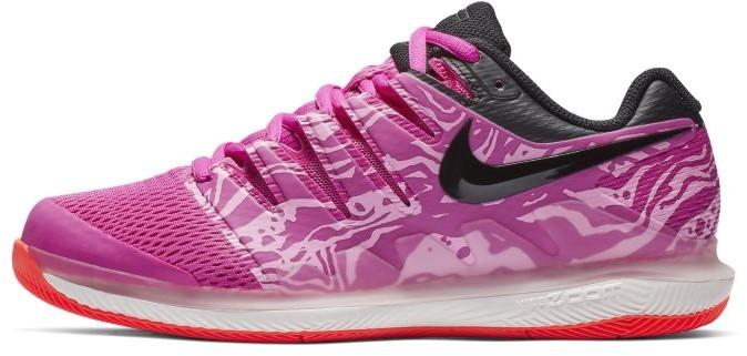 Nike Damskie buty do tenisa na twarde korty NikeCourt Air Zoom Vapor X - Fiolet AA8027-602