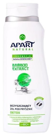 Apart NATURAL Detox oczyszczający żel pod prysznic Bamboo Extract 350ml NATURAL Detox oczyszczający żel pod prysznic Bamboo Extract 350ml