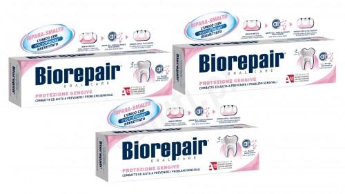 BioRepair Zestaw Biorepair Delikatne dziąsła - Pasta do zębów (3x75ml) 030E-87208