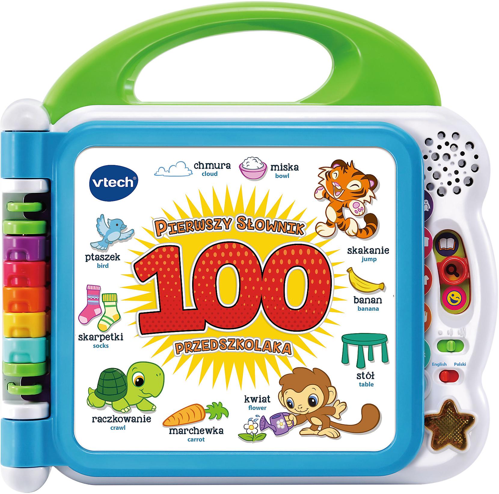Vtech 61090 Pierwszy Słownik Przedszkolaka Dwujęzyczny