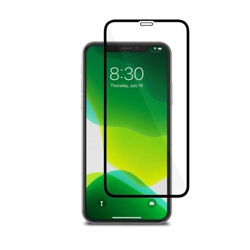 Moshi AirFoil Pro Elastyczne szkło hybrydowe iPhone 11 Pro Xs X czarna ramka) 10_17972