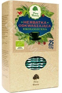 DARY NATURY Dary Natury herbatka odkwaszająca EKO x 25 sasz