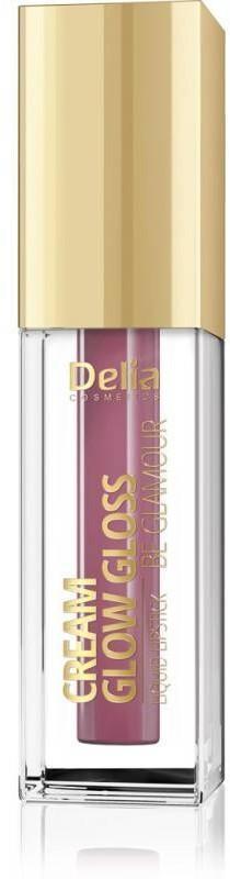 Delia Cosmetics Cream Glow Gloss Pomadka w płynie nr 204 Cookie Rum 5ml