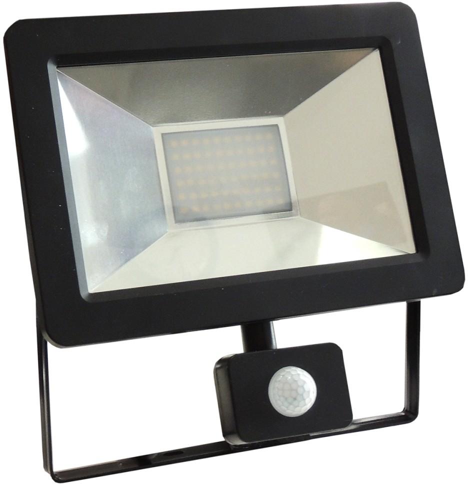 Wojnarowscy LED Reflektor z czujnikiem NOCTIS 2 SMD LED/30W/230V IP44 1950lm czarny