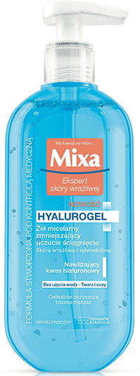 Mixa Żel micelarny do twarzy HYALUROGEL 200ml 40723-uniw