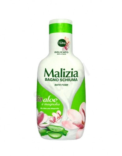 Malizia BIO Aloes i Magnolia - Płyn do kąpieli (1000 ml) 893C-5459F_20160505203400