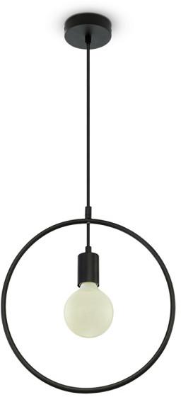 Koło V-TAC lampa wisząca VT-7322 E27 Max 60W czarna SKU 3836