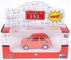 Kolekcja PRL-u Fiat 126P 4 kolory