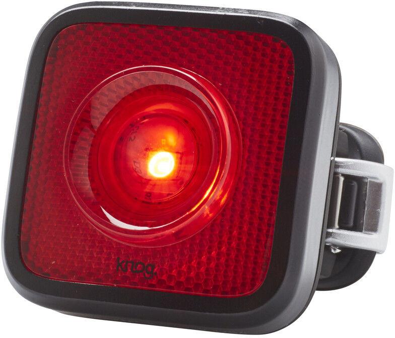 Knog Blinder MOB Tylne światło StVZO czerwone LED, black 2020 Lampki tylne na baterie 11876KN
