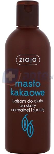 Ziaja MASŁO KAKAOWE Balsam do ciała cera normalna i sucha 300ml