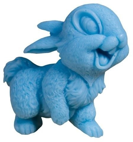 LaQ Happy Soaps Niebieski Uśmiechnięty Królik naturalne mydło glicerynowe Owocowy 60g 63808-uniw