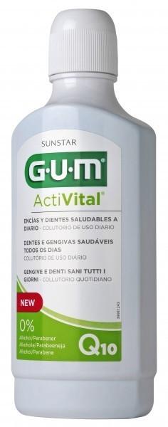 Sunstar EUROPE S.A GUM ActiVital Płyn do płukania jamy ustnej 500 ml 9083014