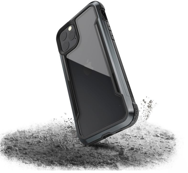 X-Doria X-Doria Defense Shield Etui aluminiowe iPhone 11 Pro Drop test 3m Black