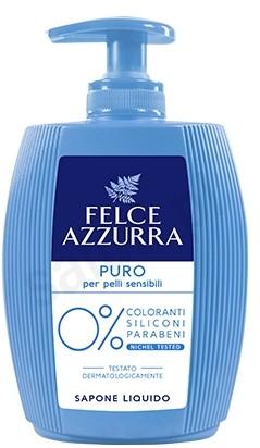Felce Azzurra Puro - Mydło w płynie dla skóry wrażliwej (300 ml) 7F26-154E9