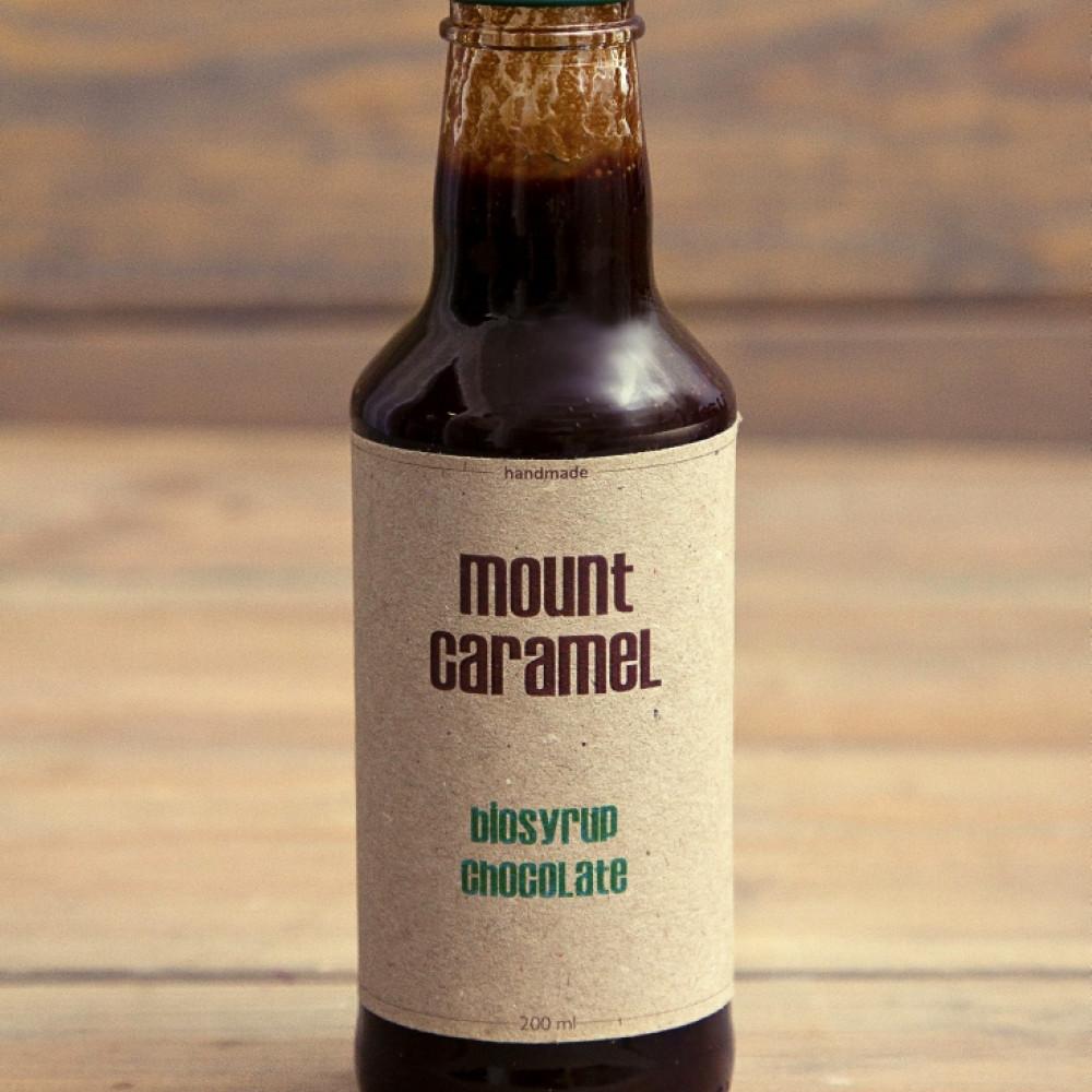 Mount Caramel BIO syrop czekoladowy 200 ml