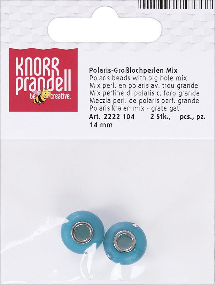 Knorr Prandel Knorr Prandell, koraliki Polaris, turkusowe, 2 sztuki