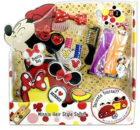 Markwins markwins torba na zestaw: Disney Minnie Mouse (Beauty Bag) plus biżuteria do włosów (Hair Style Salon) na prezentdla dzieci, 1sztuki 9605510