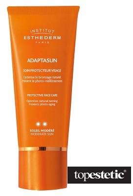 ESTHEDERM Adaptasun Face Sun (Normal Sun) Krem ochronny do twarzy dla skóry normalnej 50 ml