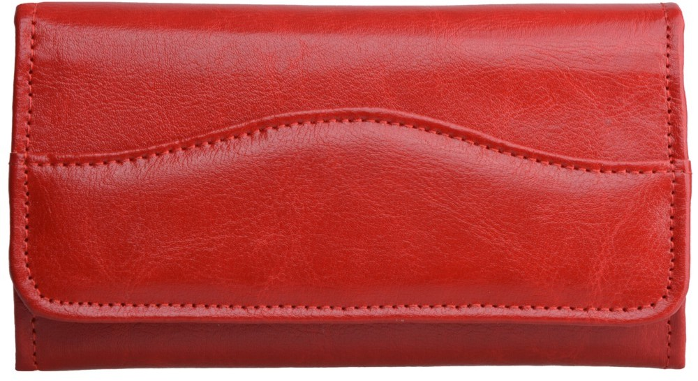 53ea3d2727dbf Kemer Portfel damski skórzany P17 Czerwony - czerwony