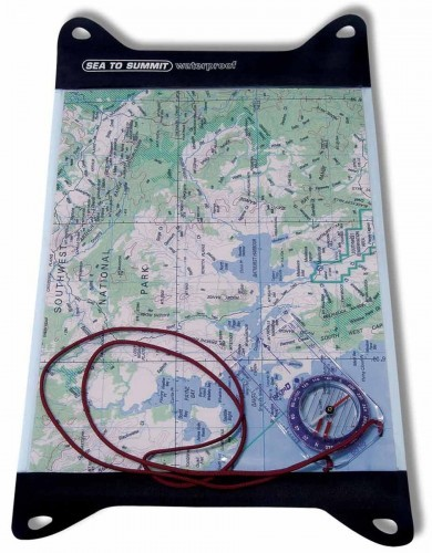Sea To Summit Mapnik Sea To Summit TPU Guide Map Case M