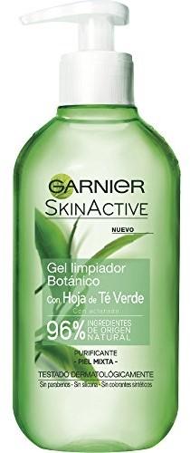 Garnier Narty nactive Green Tee arkuszy Mixed skóry Reinigungs-Gel 200ML C5813800
