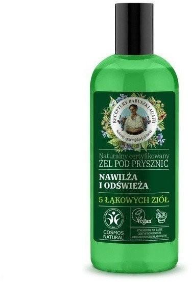 Babuszka Agafia Babuszka Agafia, żel pod prysznic nawilżająco-odświeżający, 260 ml 260 ml | SZYBKA WYSYŁKA!