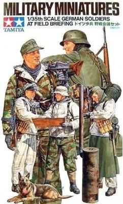 TAMIYA 1/35 German Soldiers at Field Briefing GXP-624346