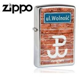 Zippo Zapalniczka Ul.Wolność Brushed Chrome 60001799