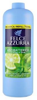Felce Azzurra Mięta i limonka Antybakteryjne mydło w płynie uzupełnienie 750 ml) 8001280024344
