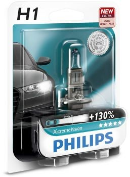 Philips H1 12V 55W P14,5s X-tremeVision +130