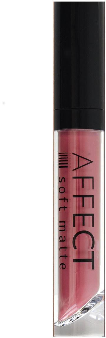 Affect Affect Liquid Lipstick Soft Matte Matowa Pomadka w Płynie Cotton Candy AFF-7104