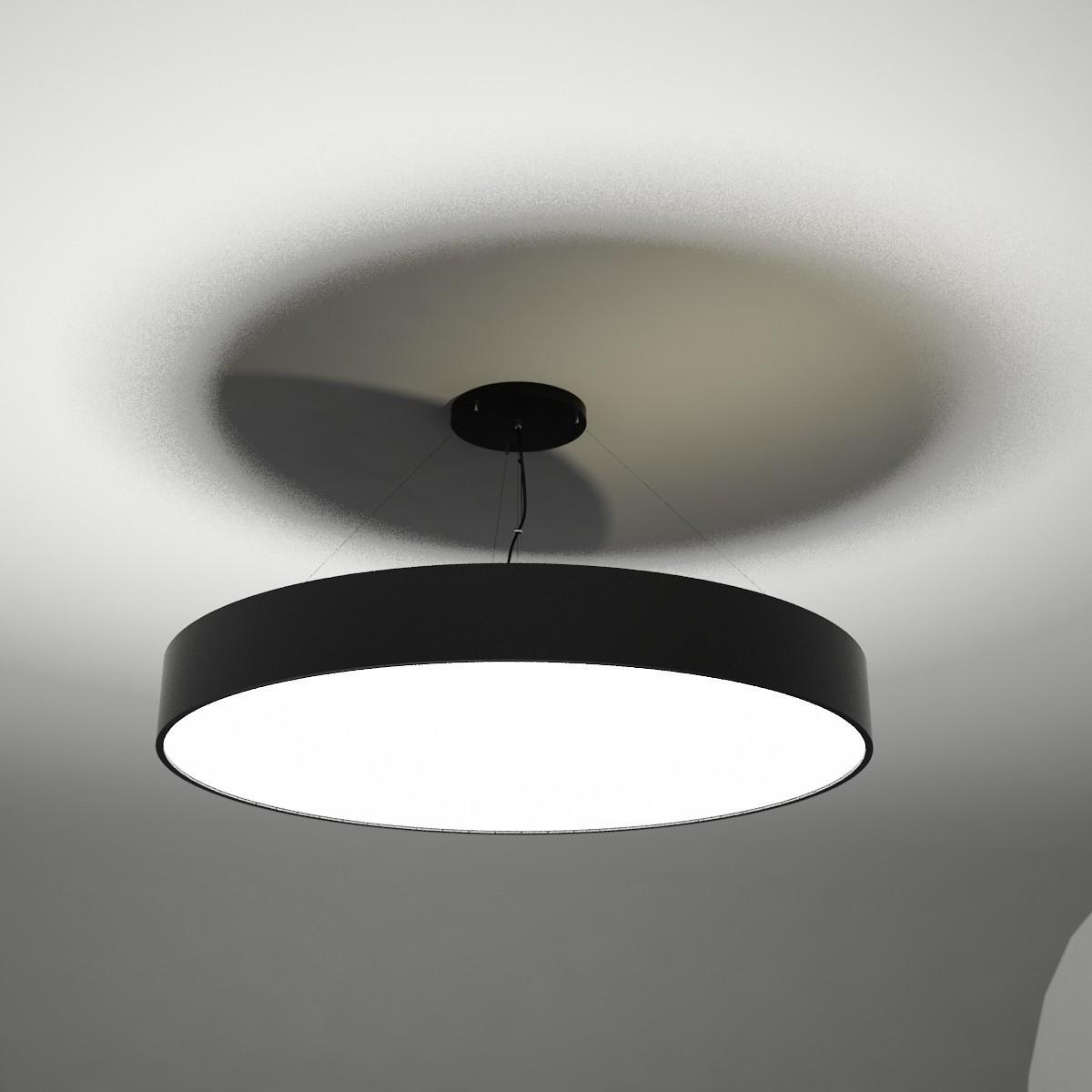 Shilo Lampa wisząca BUNGO 519 czarna) 5519-B/E27/CZ