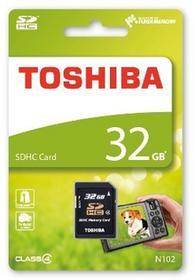 Toshiba SDHC 32GB CL4 High Speed N102