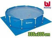 Bestway Mata pod basen folia 335x335 58001