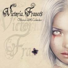 Victoria Frances - oficjalny kalendarz 2015 r.