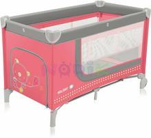 Baby Design Łóżeczko łóżeczka turystyczne Holiday (różowe) ! Holiday 02